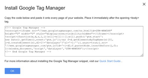 Install Google Tag Manager Seattle WA